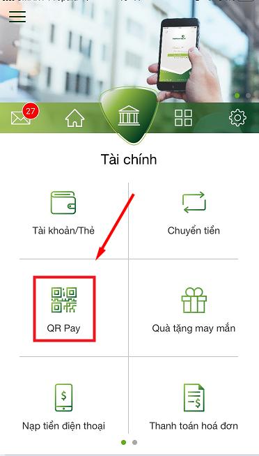 nạp tiền KUBET bằng QR Code